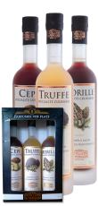 Pack of 3 Culinary Specialty 20 cl Morel, Cep, Truffle