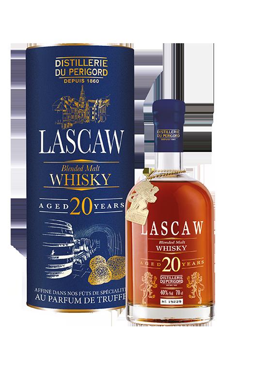 whisky lascaw 20 ans d'âge distillerie du perigord